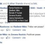 Konkurs za posao i društveni mediji
